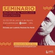 La Municipalidad de Lanús brindará un curso gratuito de Modelado Escultórico, con la profesora Ludmila Marlene de Marié